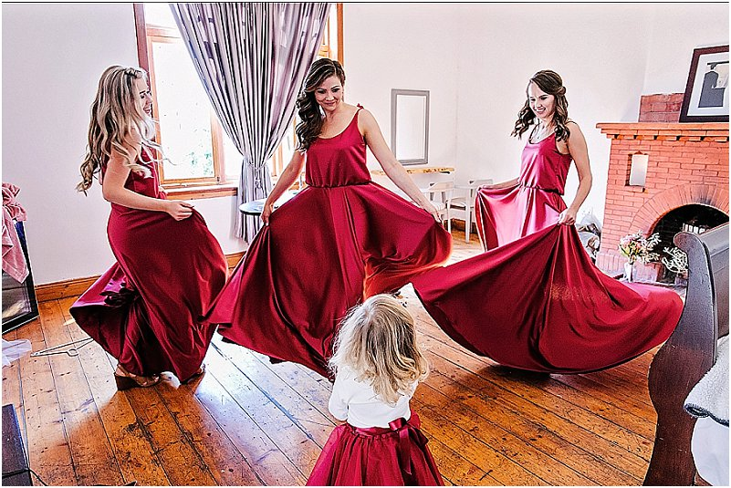 bridesmaid dresses pretoria