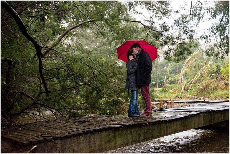 romantic engagement photo shoot