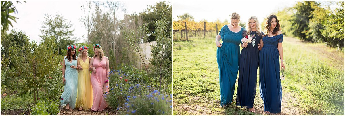 Strooimeisie-rokke en Ma van die Bruid Rokke