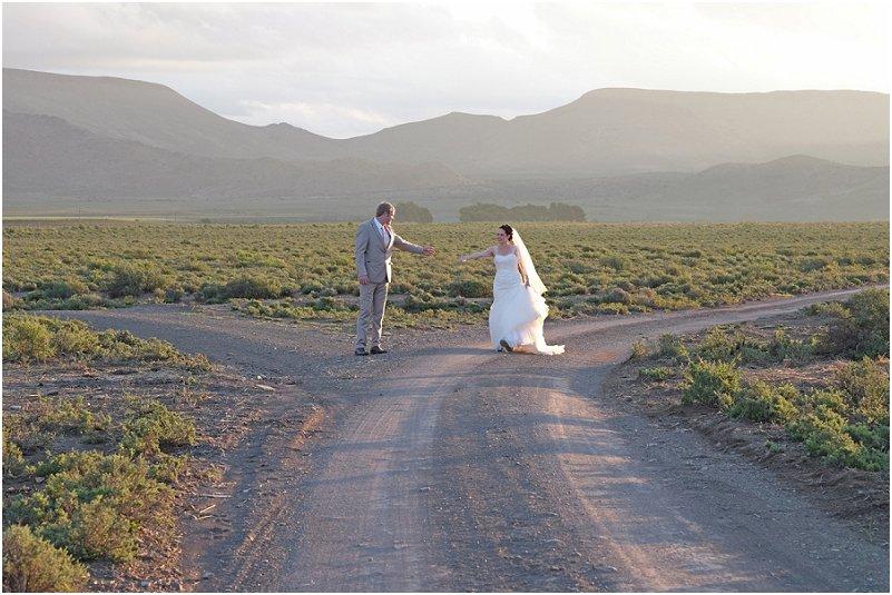Karoo plaas troue