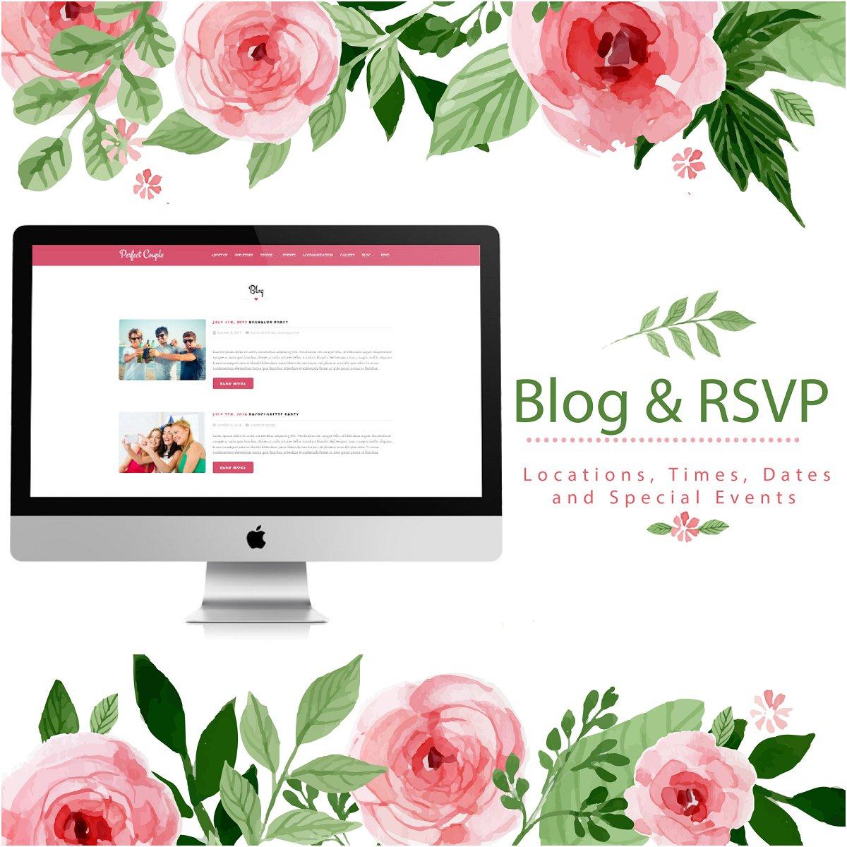 Blog&RSVP