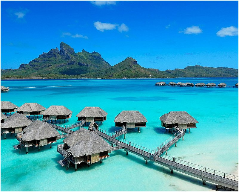wittebrood in Bora Bora
