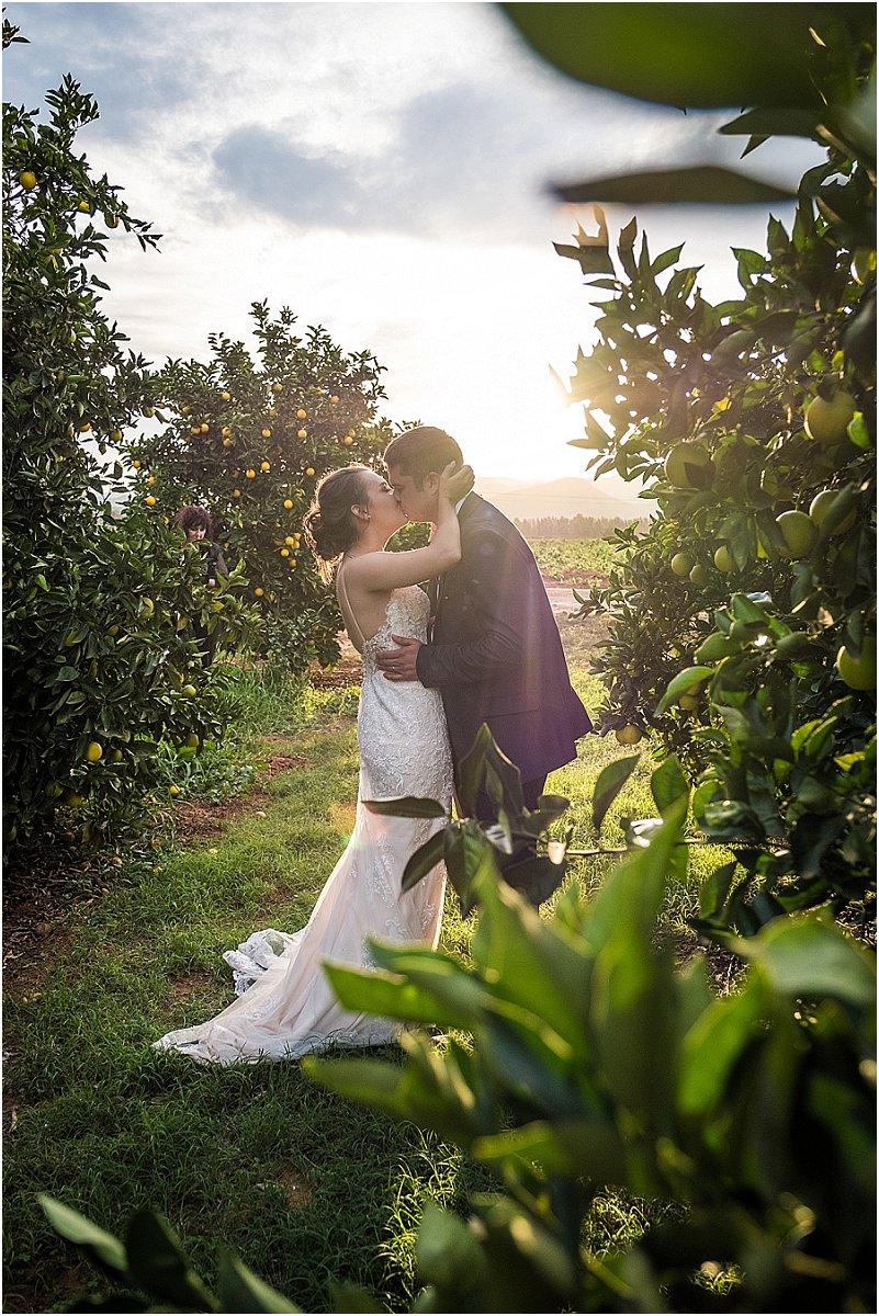 Winter wedding South Africa
