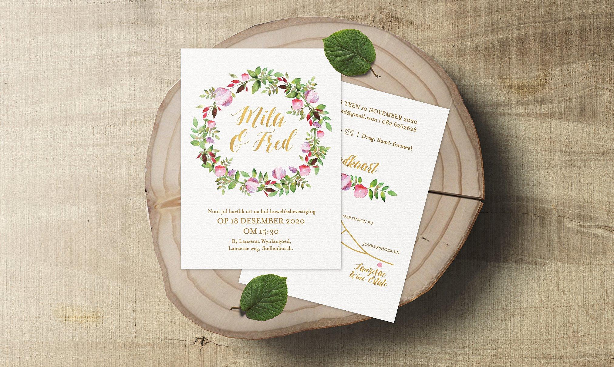 wedding stationery south africa