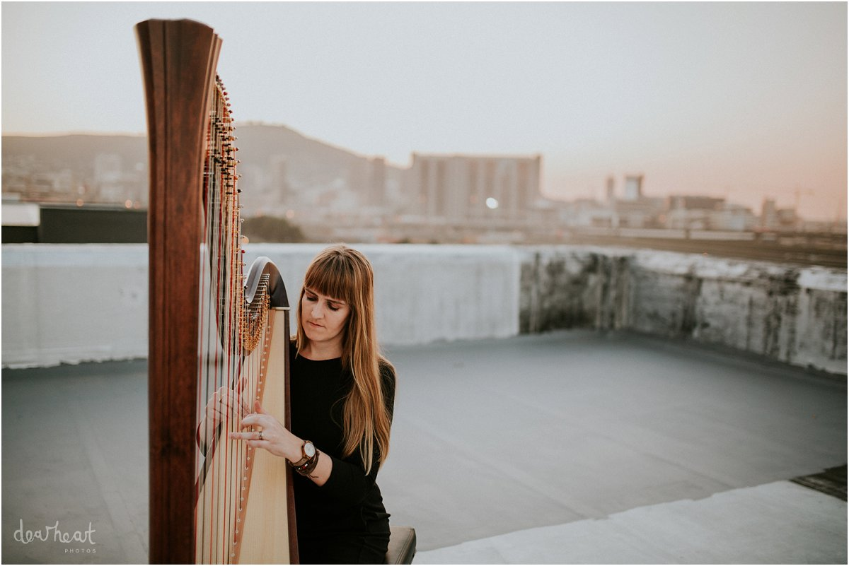 harpist cape town