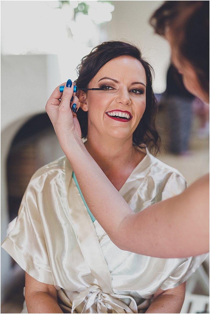 bruid grimering