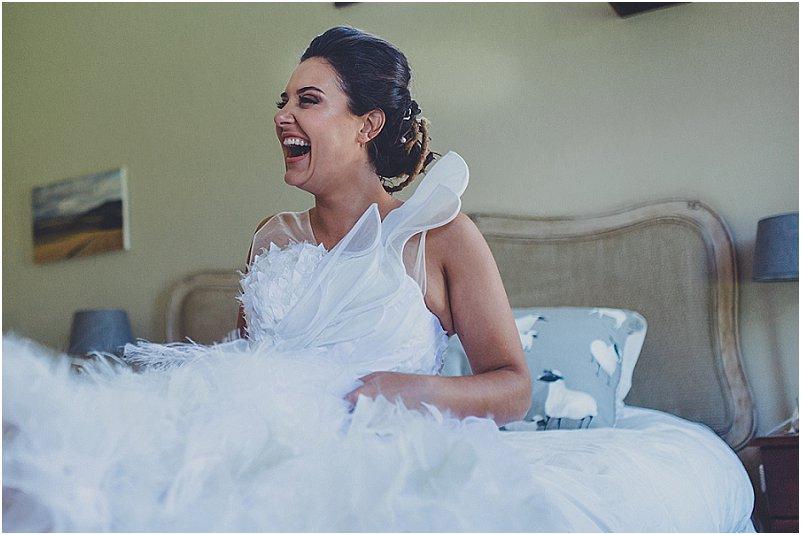 Laggende bruid