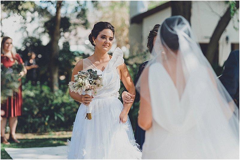 lesbian wedding at bon cap