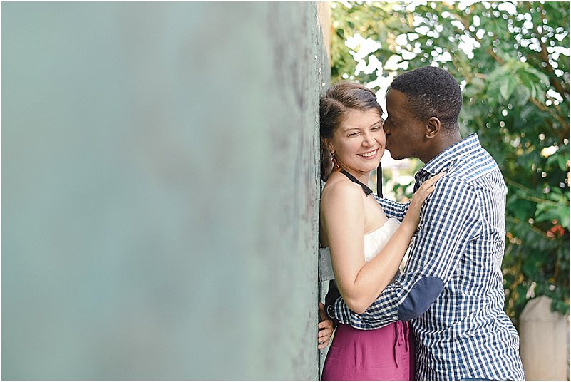 melville engagement photos