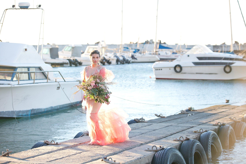 Pantone 2019 wedding dress inspiration