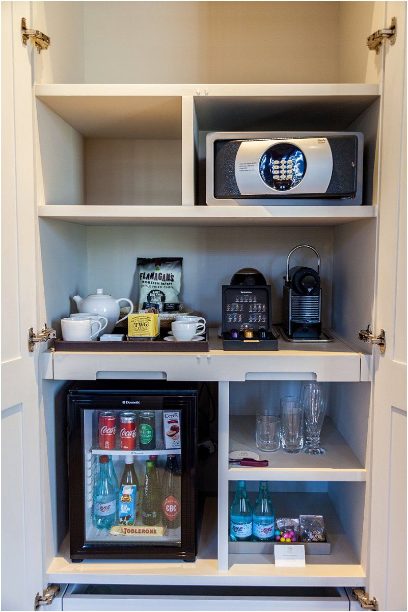 Coffe station, safe, Hotel Room, leeu collection, vorsprung studio photography