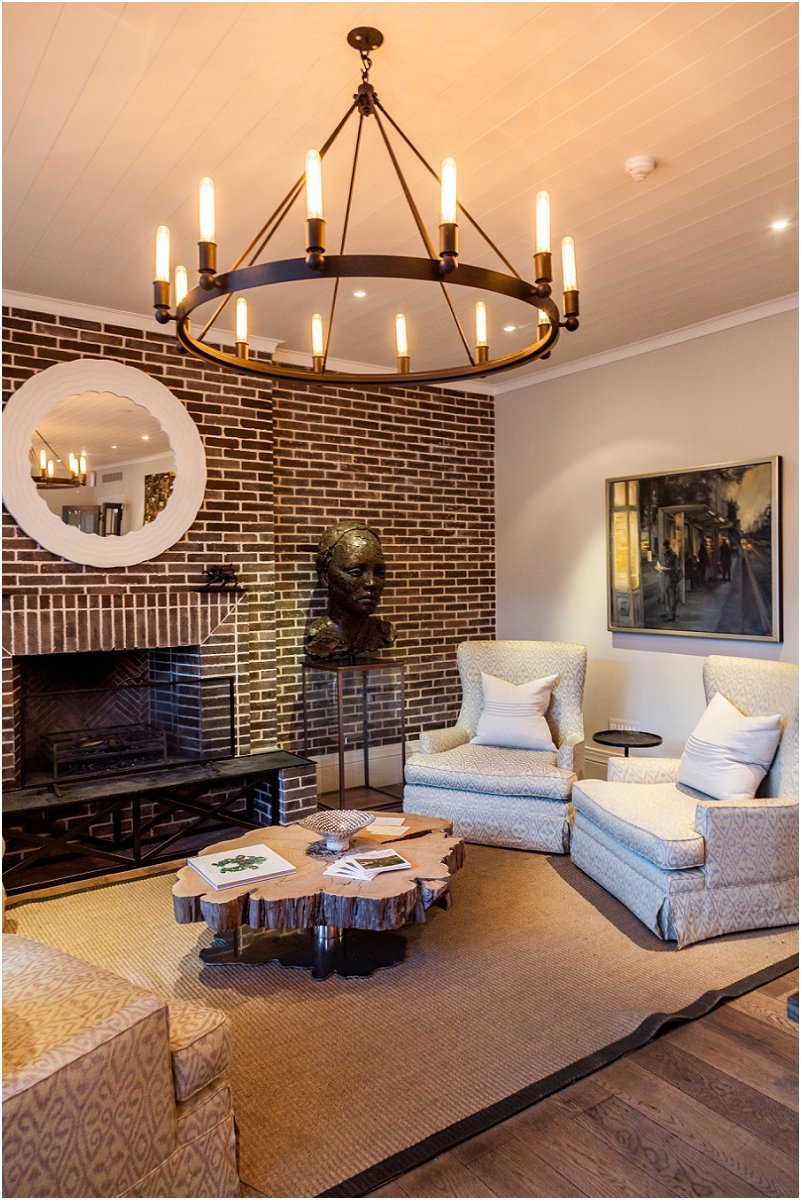 lounge, fire place, chandellier, leeu collection, vorsprung studio photography