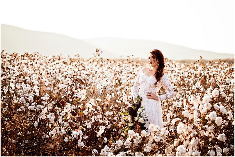 cotton wedding ideas