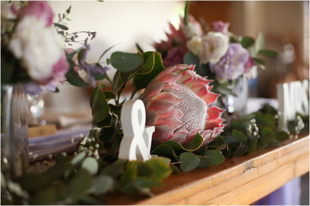 Bloemis en trou dekor