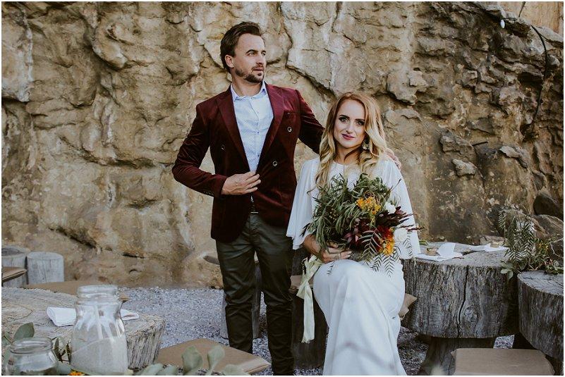 Bohemian wedding at Bosduifklip