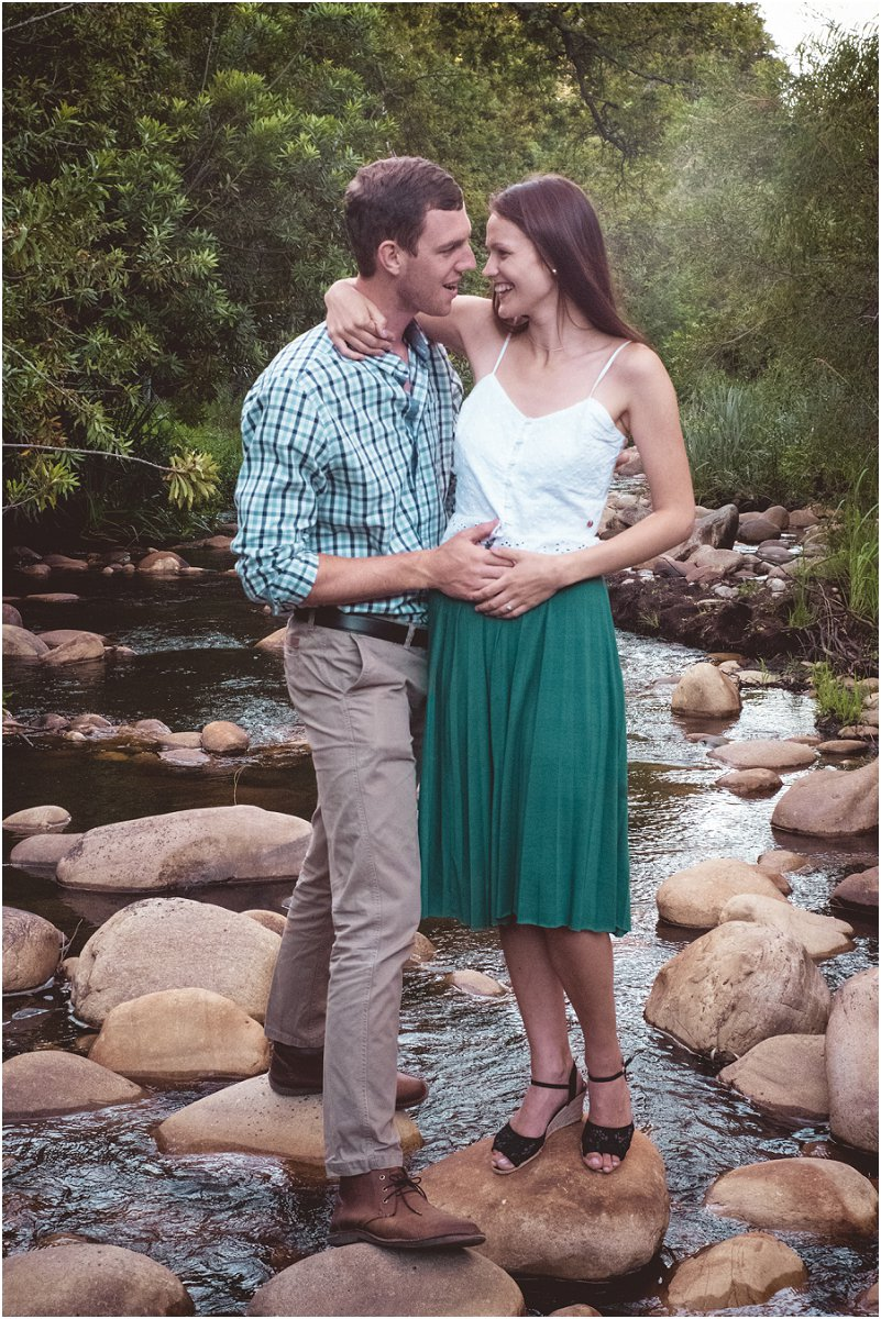 engagement photosession in stellenbosch