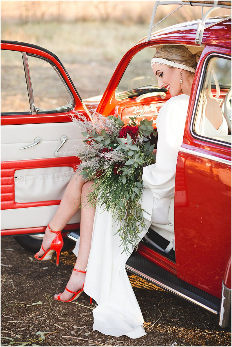 1950's style wedding inspiration