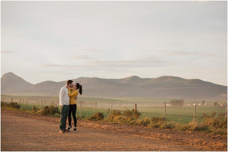 Engagement photos in Tsitsikamma