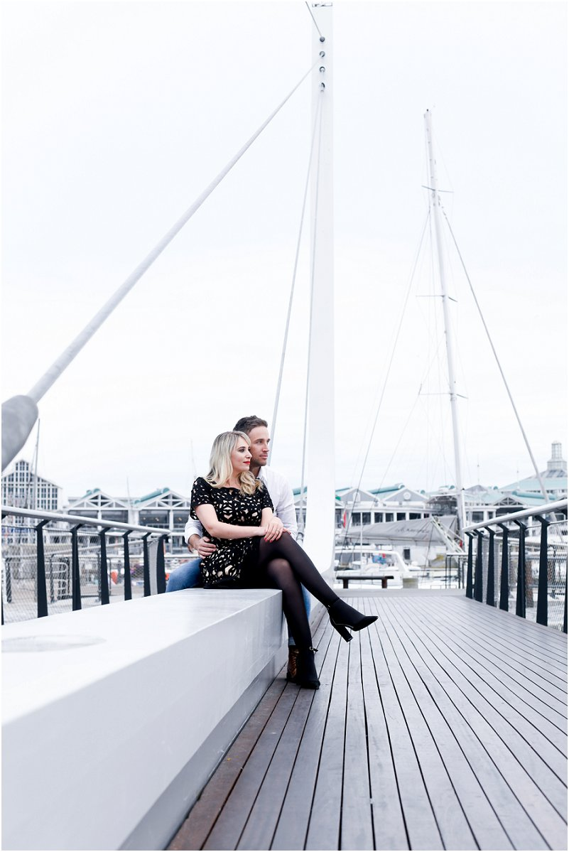 v&a waterfront engagement