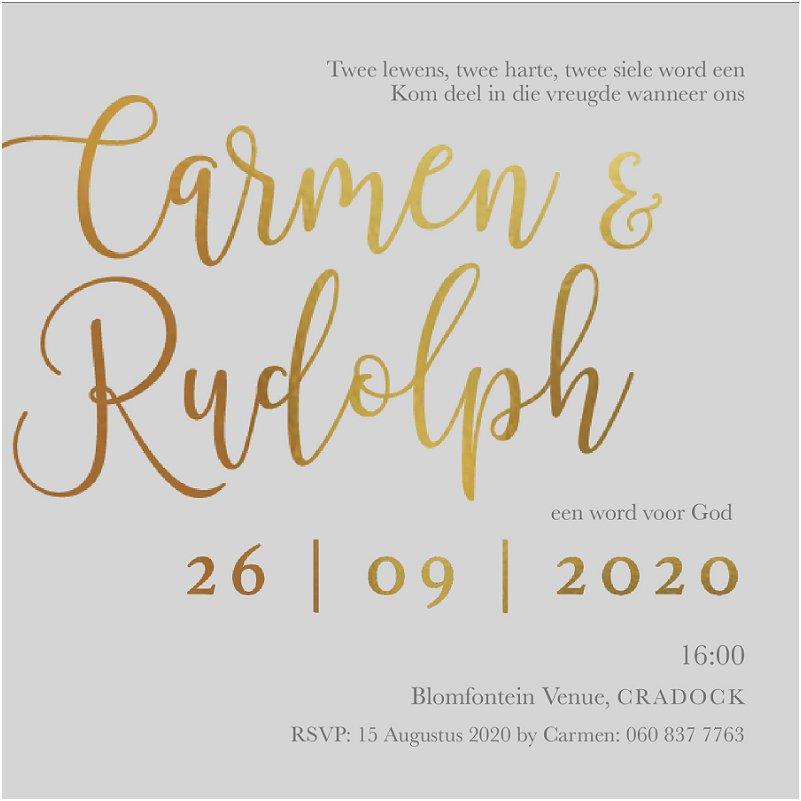 Modern Online Wedding Invitation Inspiration