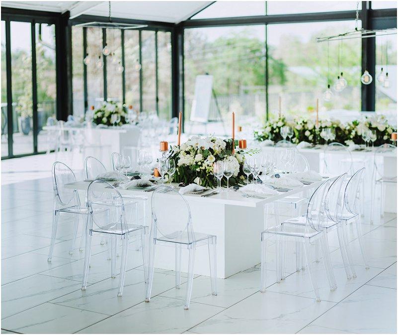 modern style wedding