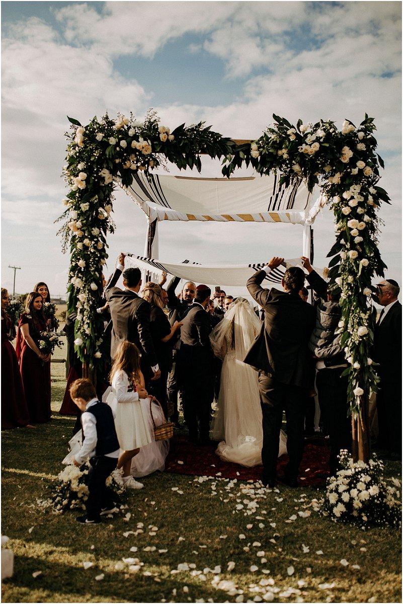 traditional Jewish wedding