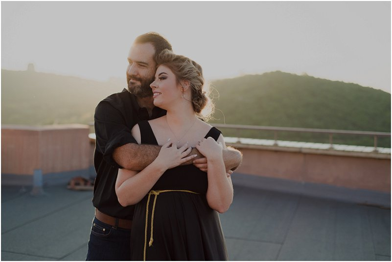 rooftop engagement