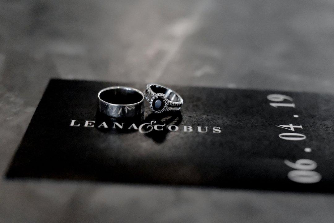 black and white wedding inspiration
