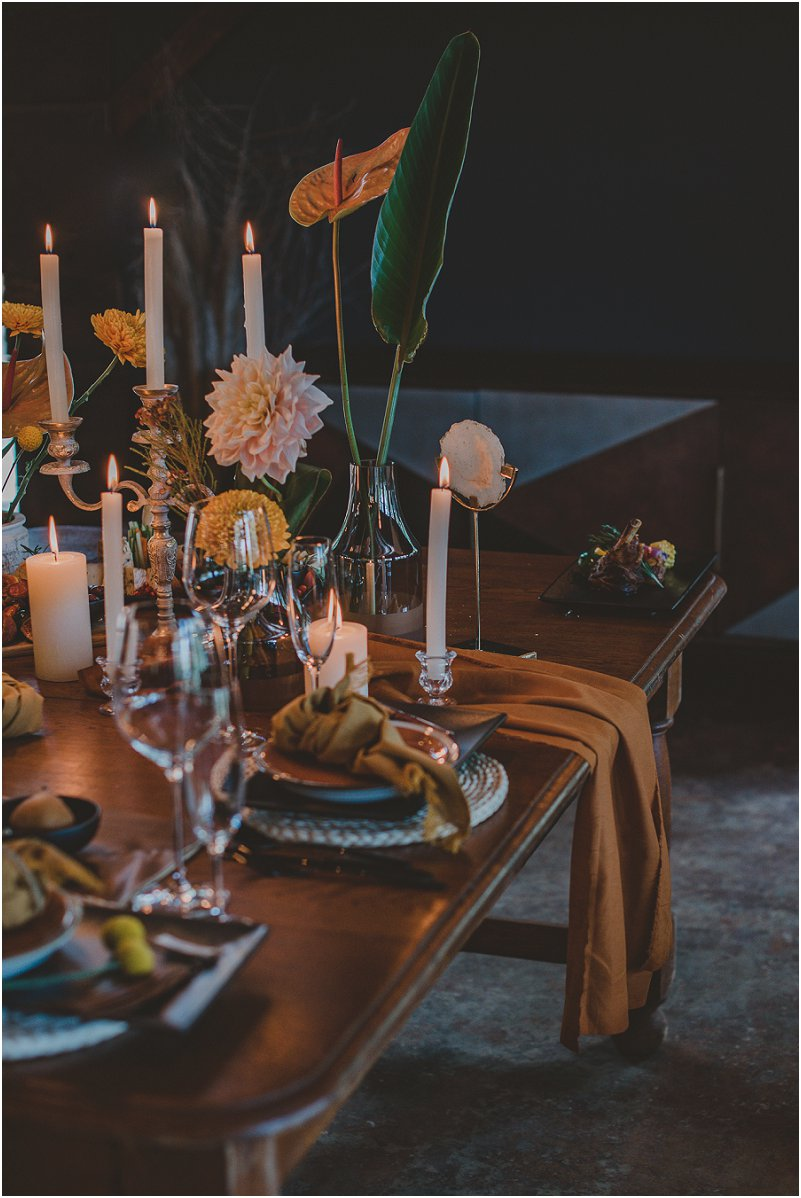 Luxury Wedding Inspiration with earth shades