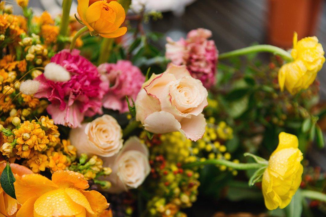 Intimate autumn wedding styled inspiration photo shoot