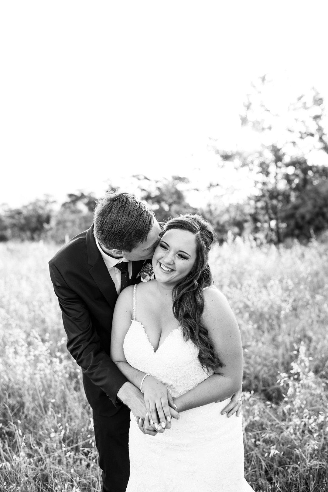 modern farm wedding