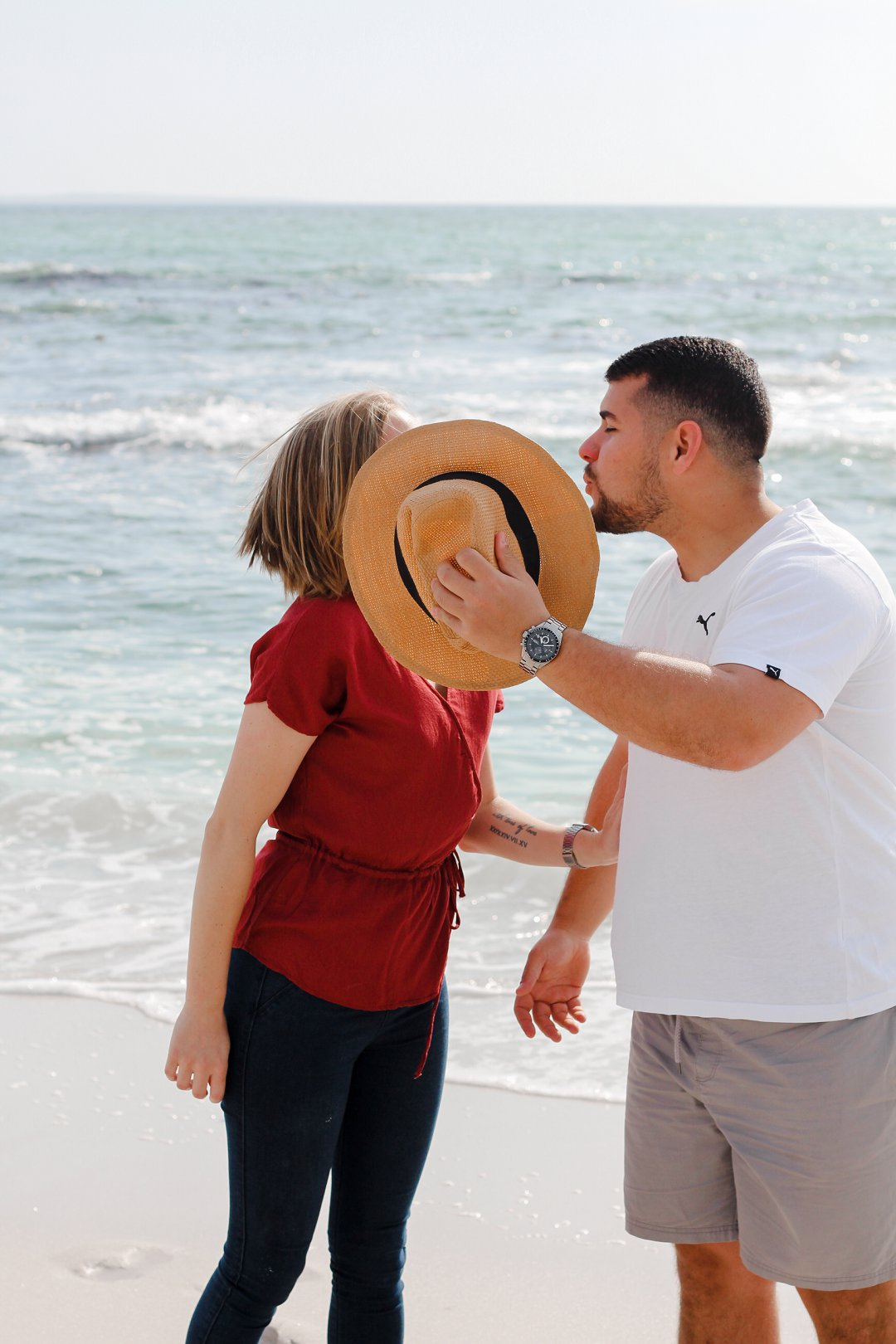 Beach Engagement Photo Session