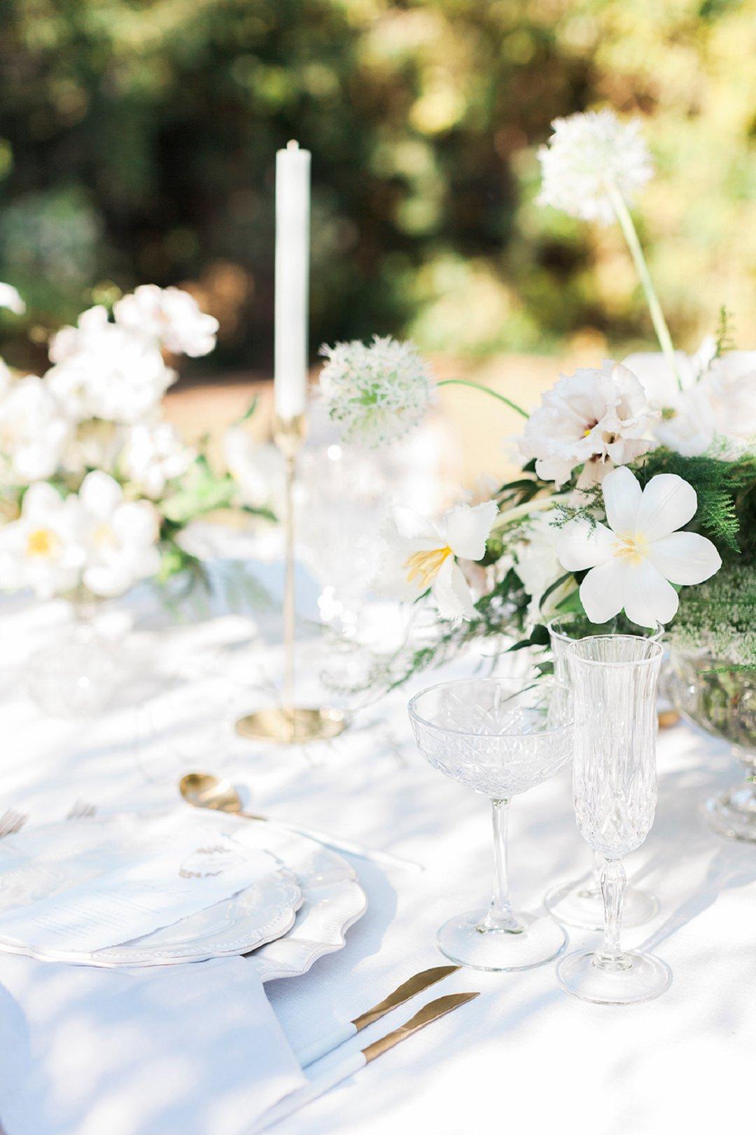 Elegant Intimate Outdoor Wedding Inspiration