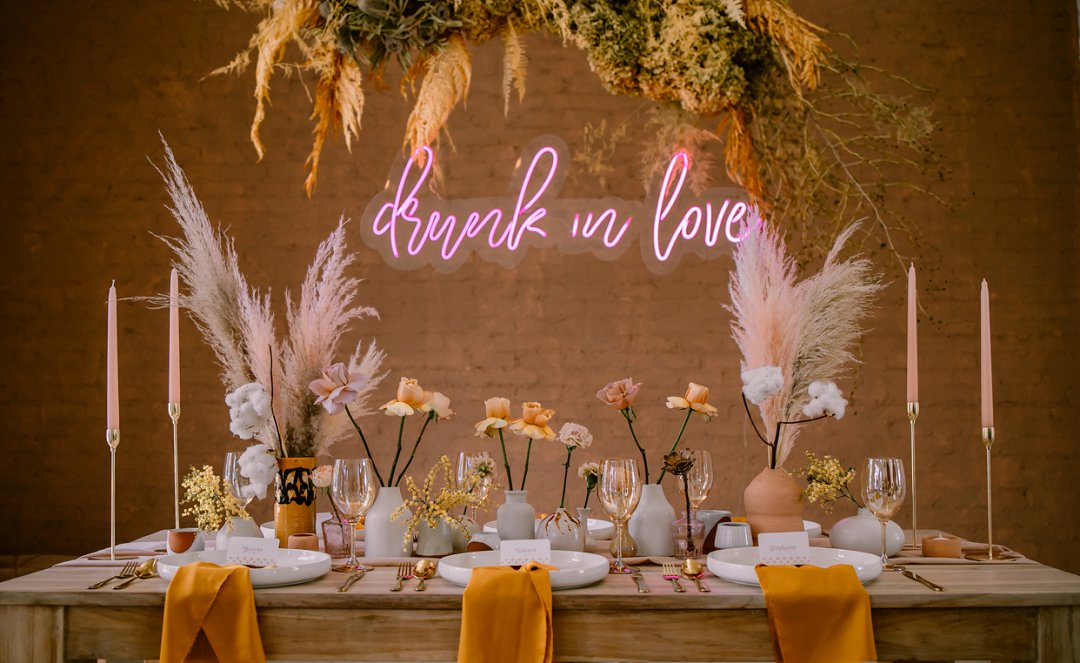 1970s Bohemian Wedding Inspiration
