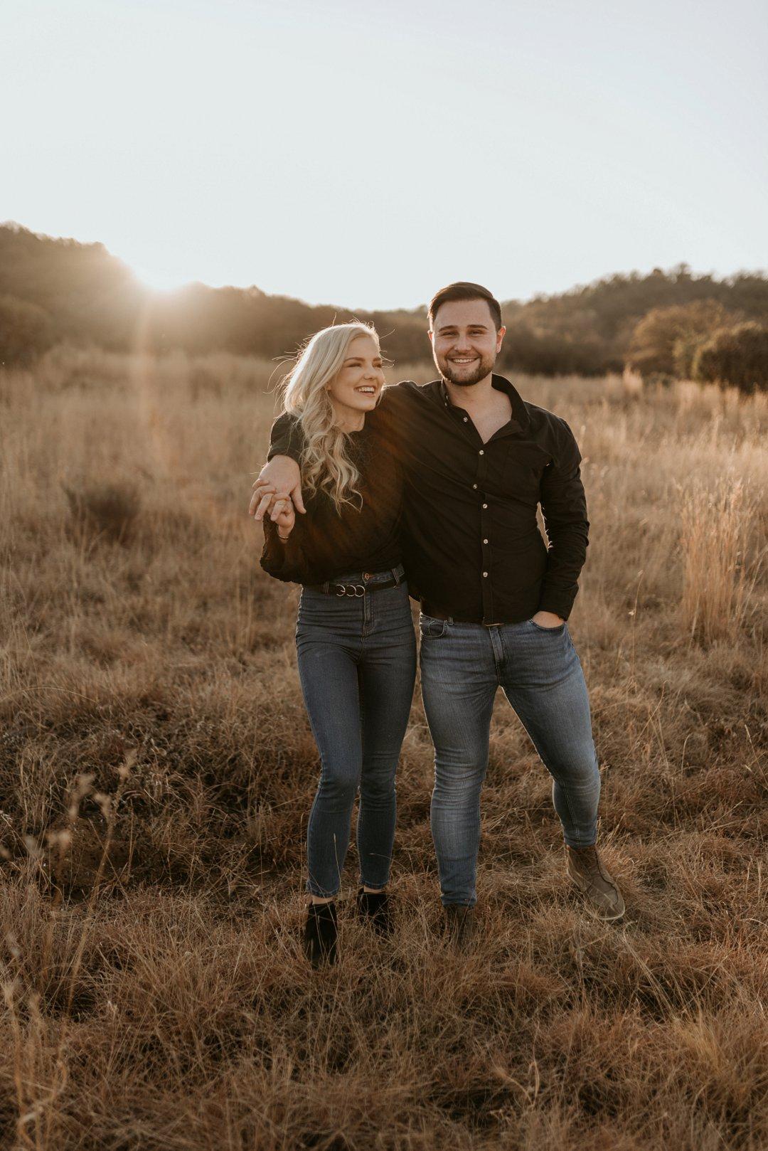 cute couple photosession