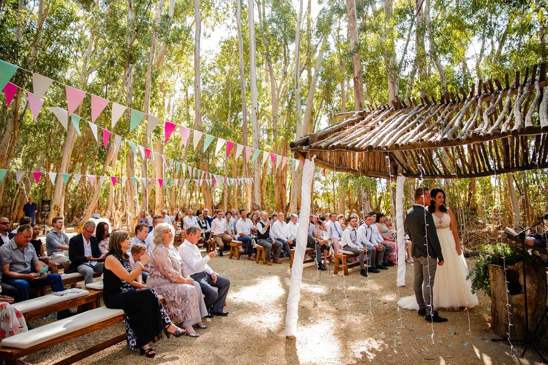 ceremony area at allesverloren