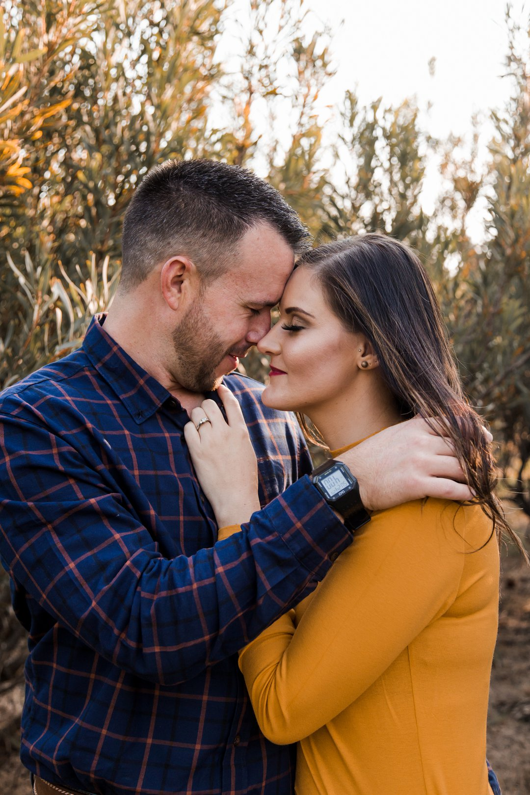 engagement photos between proteas