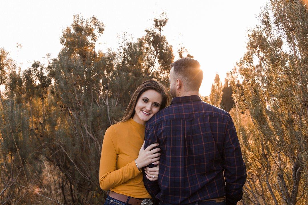 engagement photos between proteas