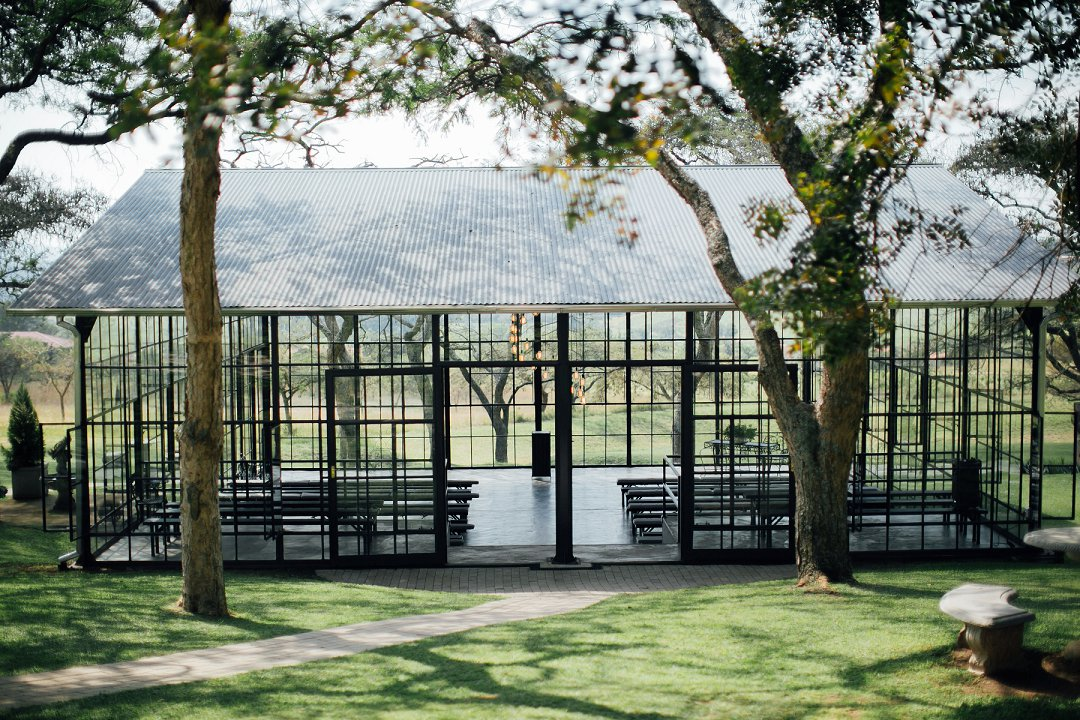 Whispering Thorns glass chapel Mpumalanga