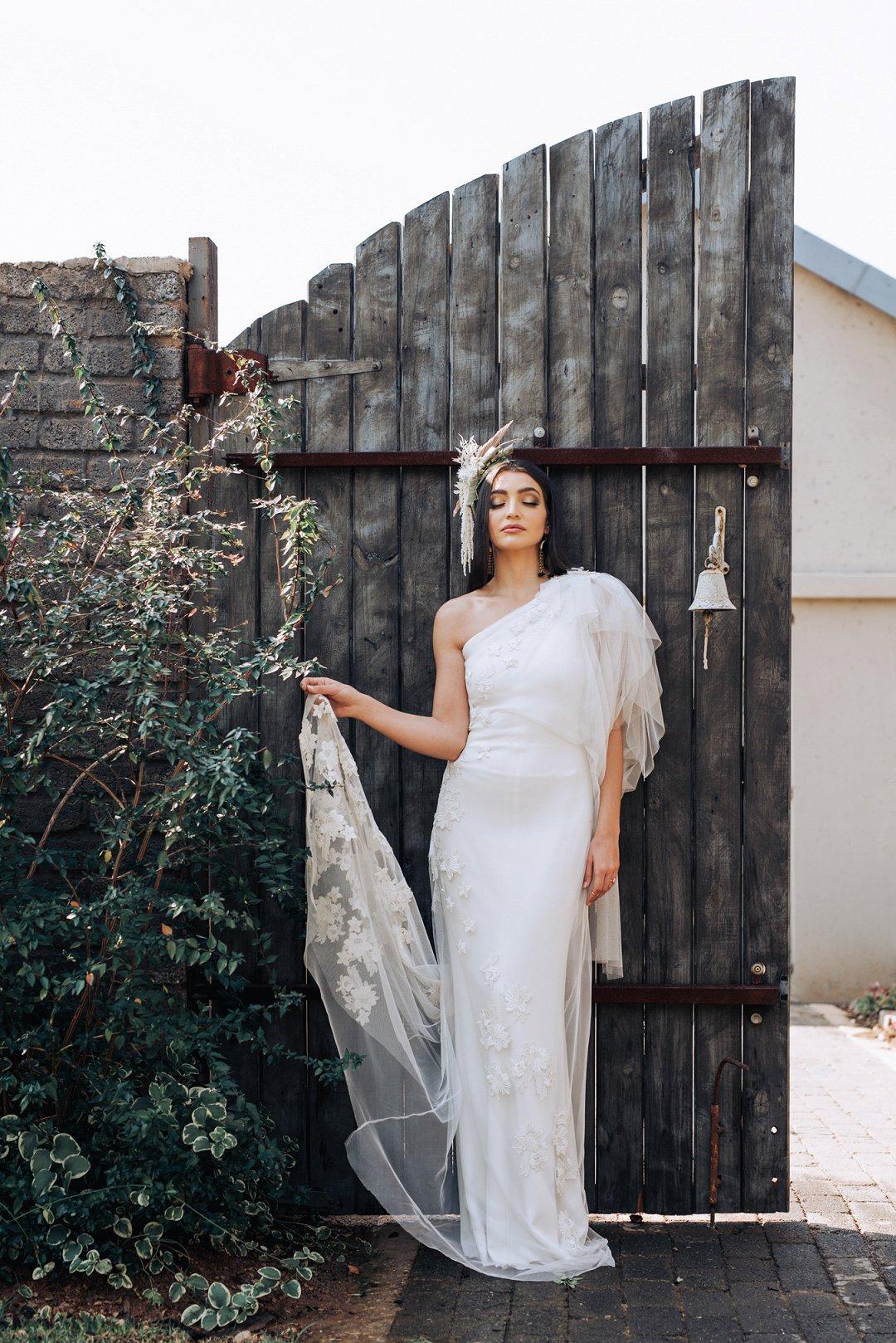 industrial wedding style shoot
