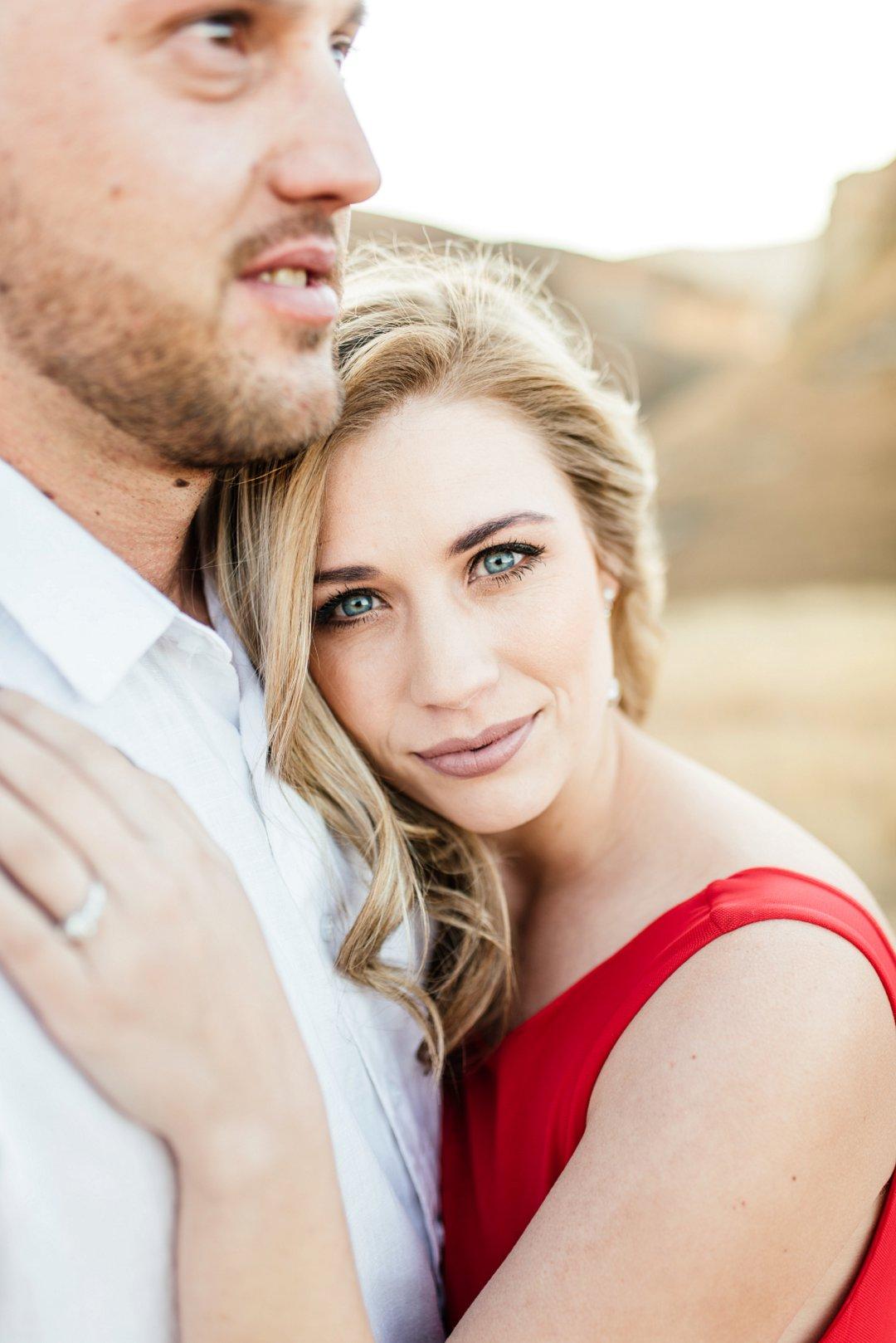 beautiful engagement photoshoot