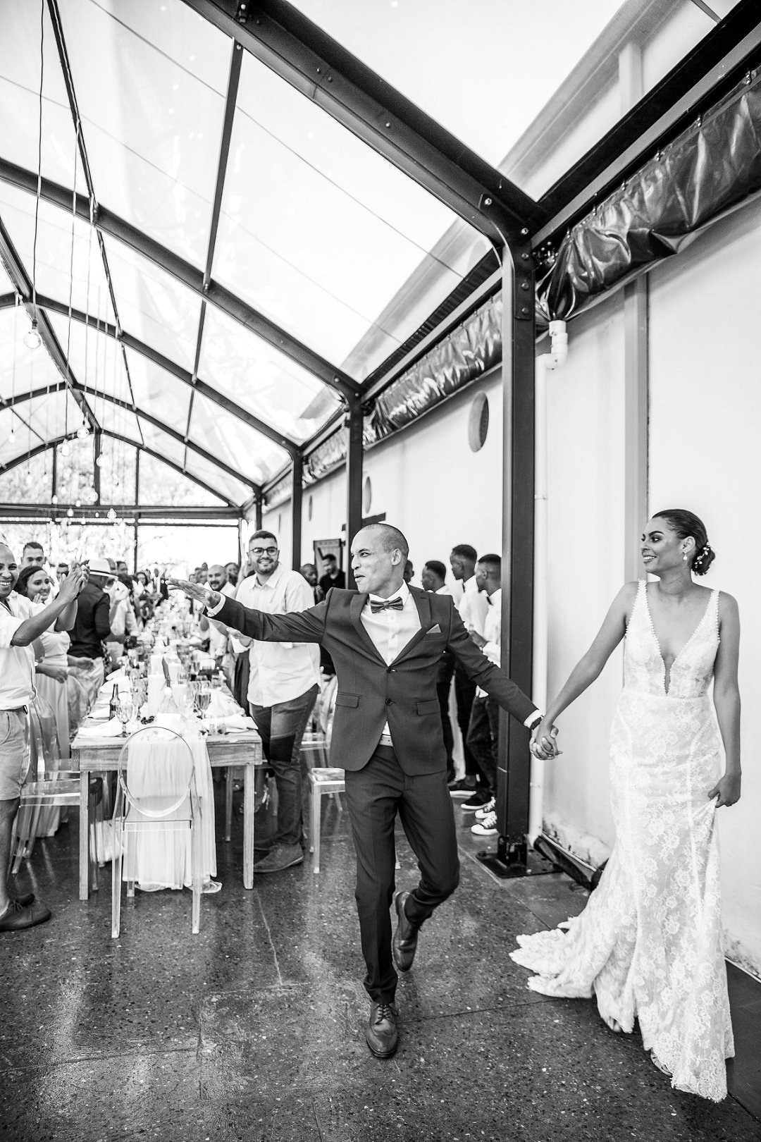 wedding celebrations at au de hex in Wellington