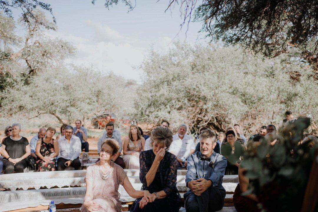 open air wedding chapel under a big tree